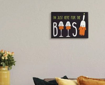 Stupell Industries Here for the Boos Wall Art