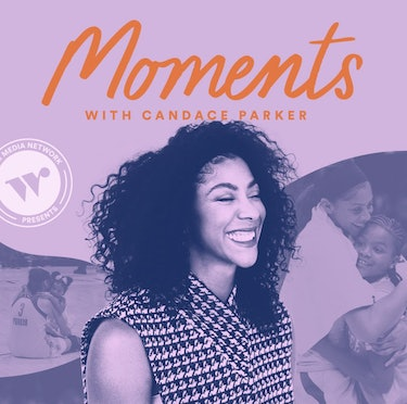 image for Candace Parker's new podcast, Moments With Candace Parker