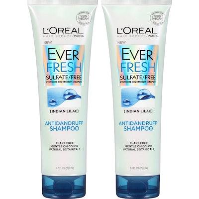 L'Oréal Paris EverFresh Antidandruff Shampoo, 8.5 Fl. Oz. (2-Pack)
