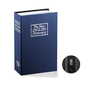Jssmst Book Safe with Combination Lock