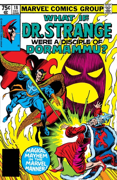 What if Dr. Strange were a disciple of Dormammu? by Tom Sutton, Irv Watanabe