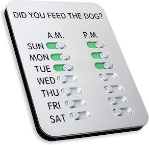 DYFTD The ORIGINAL 'Did You Feed the Dog?'