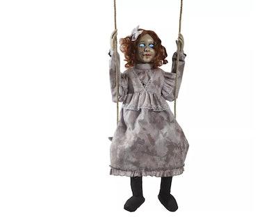 Animated Swinging Doll