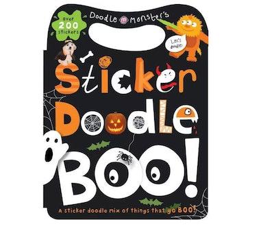 a halloween sticker book from Target