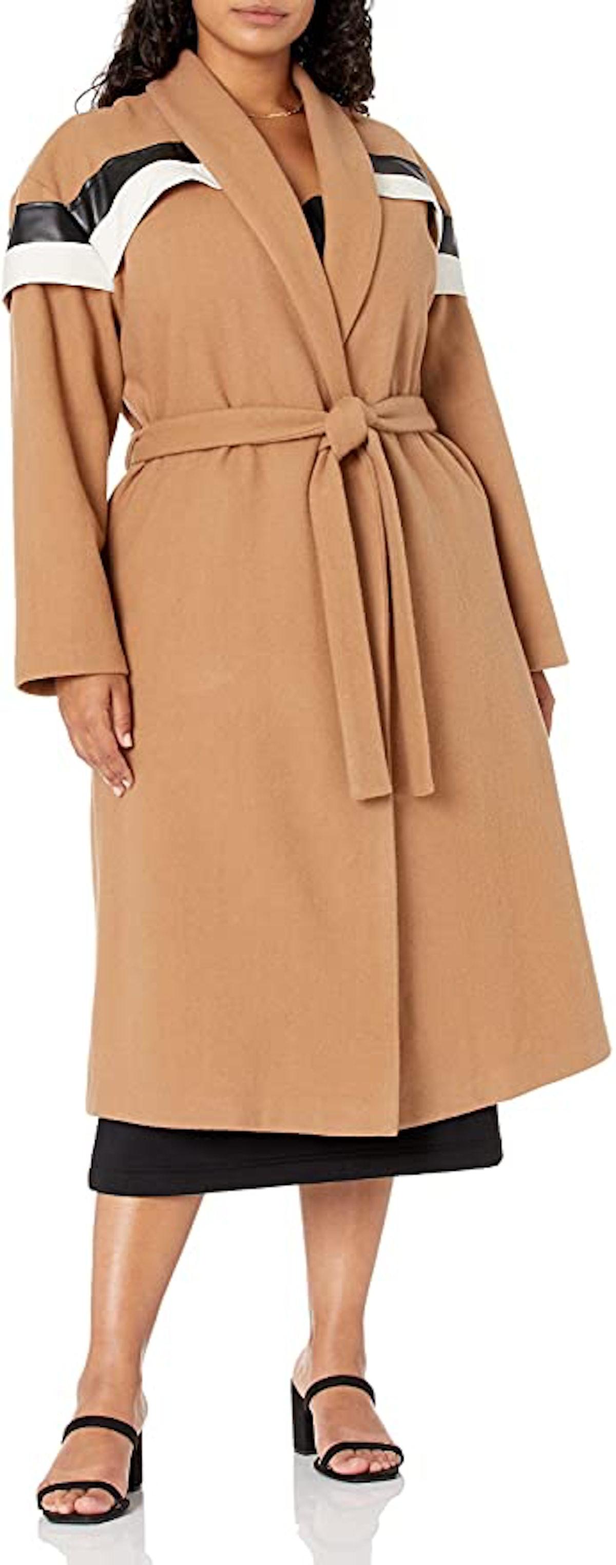 'Making the Cut' Season 2 Episode 6 Winning Look Andrea's Wool Camel Coat