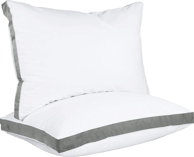 Utopia Bedding Gusseted Pillow (2-Pack)