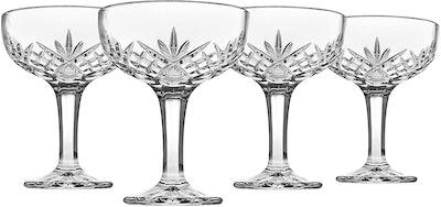 Godinger Champagne Coupe Glasses (Set of 4)