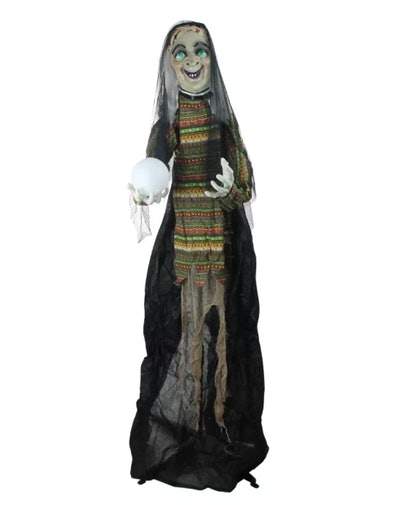 Northlight 5.5' Prelit Standing Fortune Telling Witc