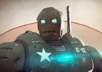 Captain Carter Steve Rogers Howard Stark Iron Man Hydra Stomper