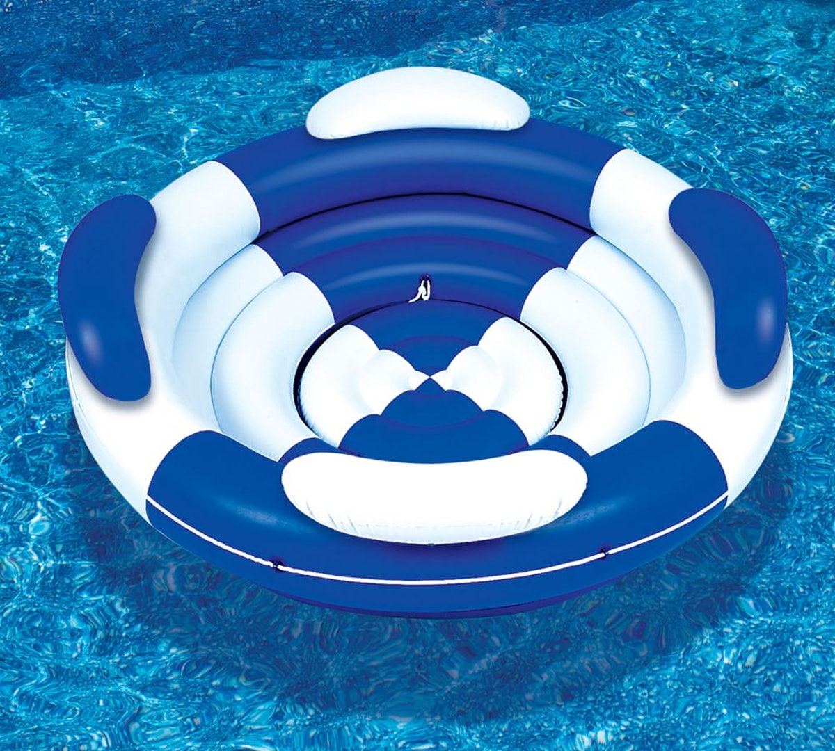 Round Lounger Pool Float