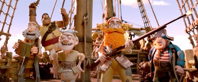 'The Pirates Band of Misfits' is an animated movie from 2012.