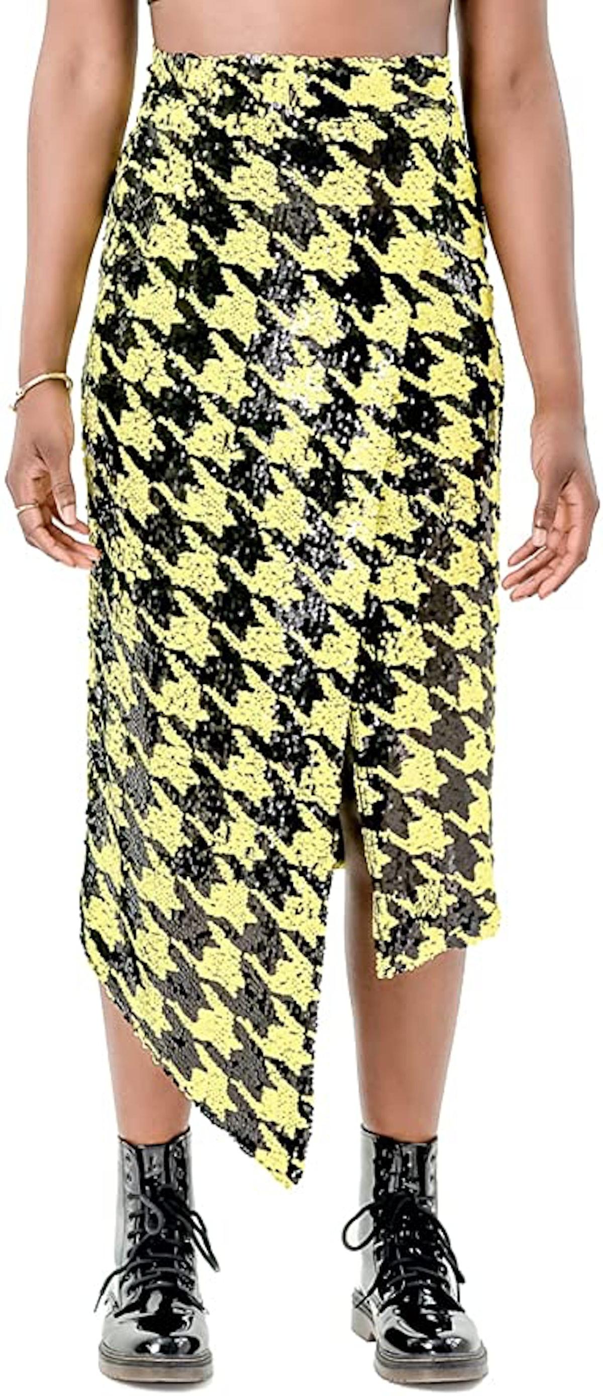 Pantora Cavi Sequin Wrap Skirt