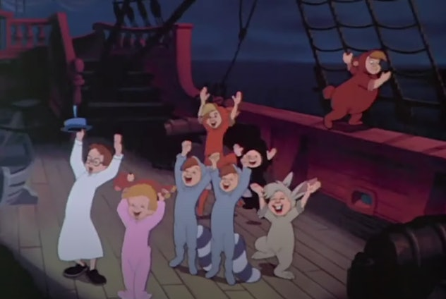 Peter Pan is streaming on Disney+.
