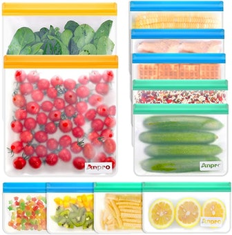Anpro Reusable Food Storage Bags (11-Pack)