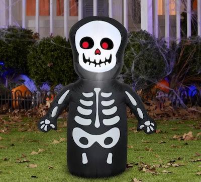Gemmy Airblown Happy Skeleton