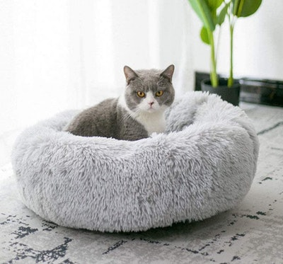 BODISEINT Plush Pet Bed