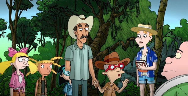 Hey Arnold! The Jungle Movie is based on the Nickelodeon show.