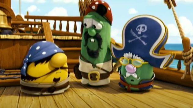 The Pirates Who Don't Do Anything is a Veggie Tales movie.