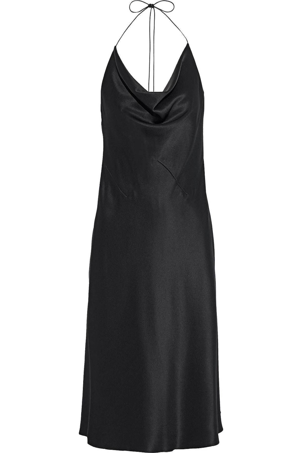 CUSHNIE slip dress