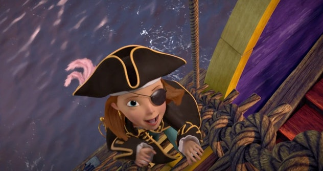 'The Swan Princess: Princess Tomorrow, Pirate Today' is from 2016.