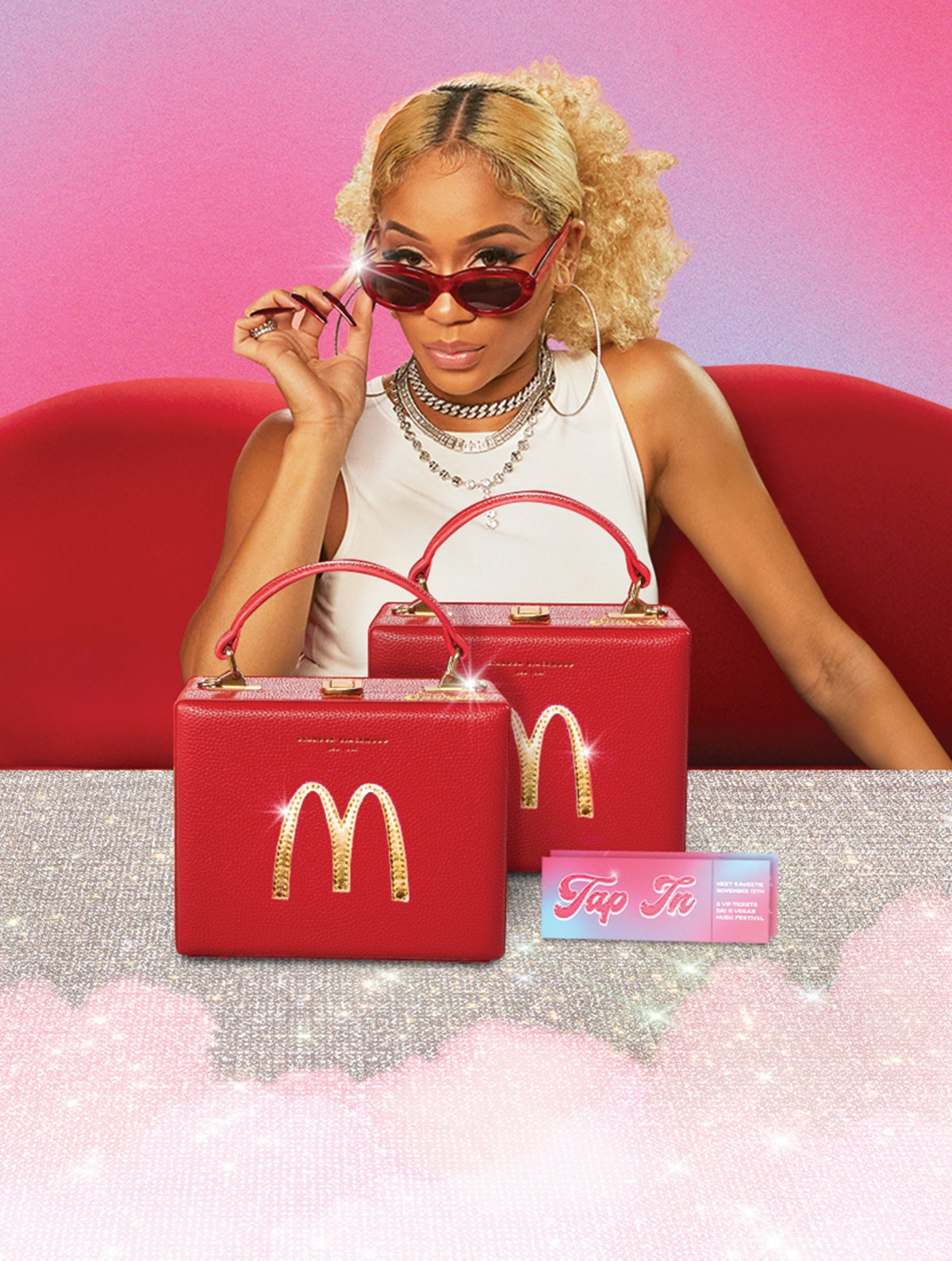 McDonald's Saweetie Meal sweepstakes could win you a Las Vegas trip.