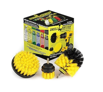 Drill Brush Attachment All Purpose Power Scrubber Cleaning Kit