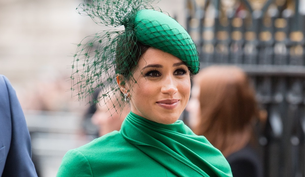 LONDON, ENGLAND - MARCH 09:  Meghan, Duchess of Sussex attends the Commonwealth Day Service 2020 on ...