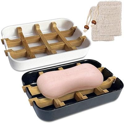 Yeuligo Soap Dish (2-Pack)