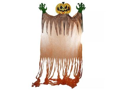 Northlight 11' Scary Jack-o'-Lantern Hanging Halloween Decoration
