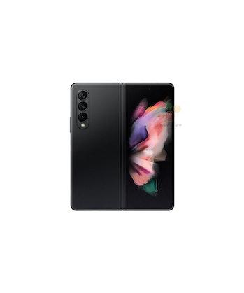 Z Fold 3 foldable smartphone with three camera array
