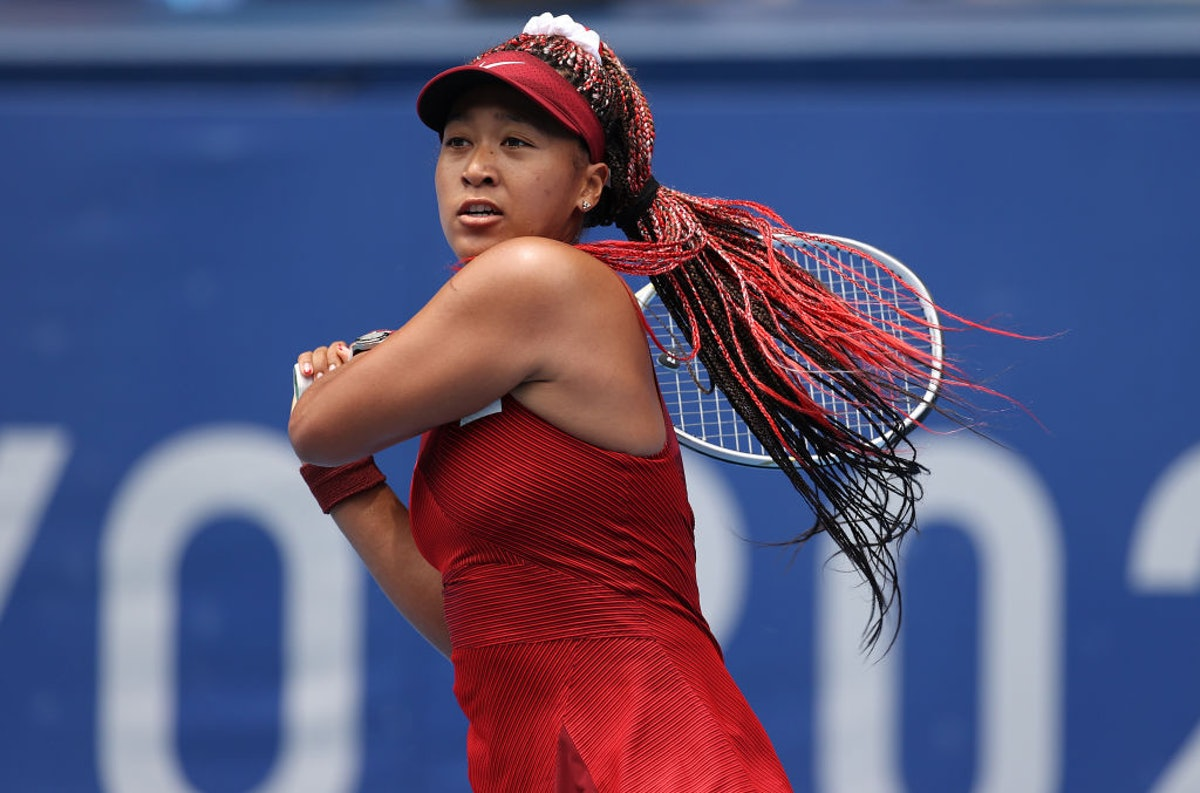 Naomi Osaka and TK other Olympians who sported colorful hair as they competed in Tokyo.