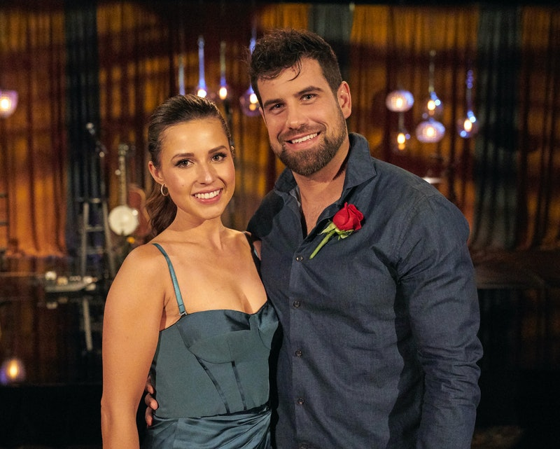 Blake Moynes and Katie Thurston enjoy a date before their engagement.