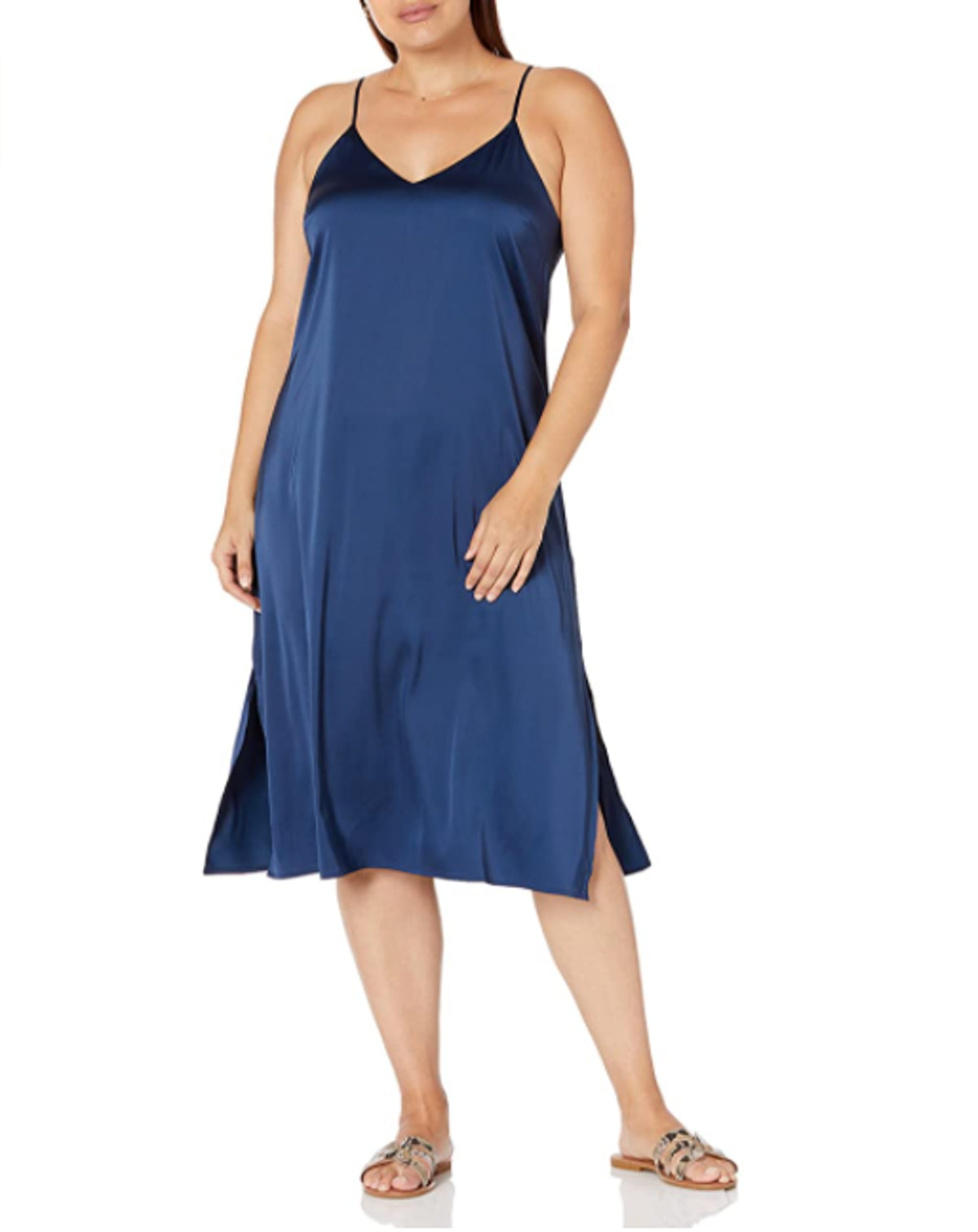 The Drop Ana Midi Slip Dress