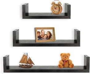Greenco Floating Shelves (Set of 3)