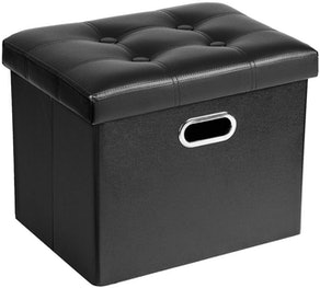 Cosyland Leather Ottoman with Storage
