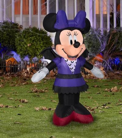 Gemmy Airblown Minnie in Bat Costume