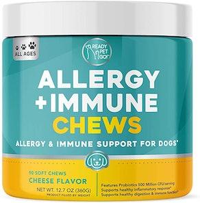 Ready Pet Go! Allergy Immune Supplement (90 Count)