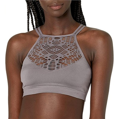 Mae High-Neck Bralette With Cutouts