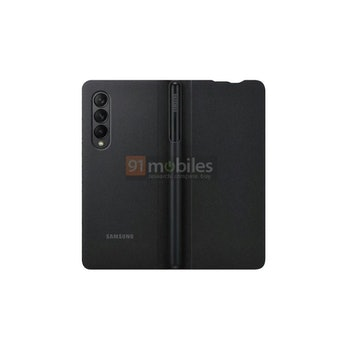 Case with stylus slot for Samsung Z Fold 3 phone