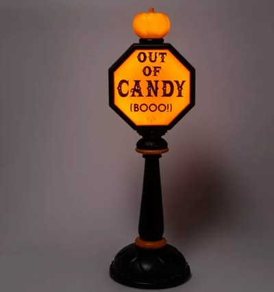 """Hyde & EEK! Boutique™ 42"""" Lit Trick or Treat Stop Sign"""