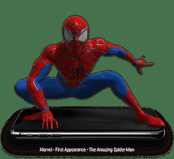 Marvel Disney Spider-Man NFT variant art