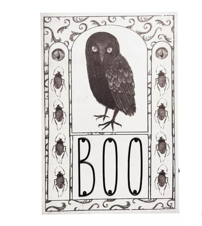 Gallerie II Boo Owl LED Wall Art