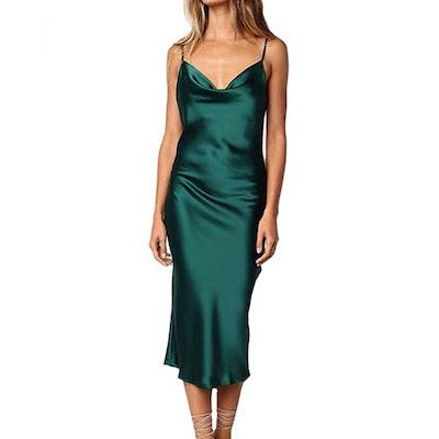 xxxiticat Satin Cocktail Dress