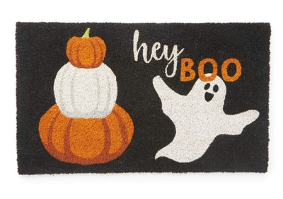 This ghost door mat from Big Lots is part of their 2021 Halloween collection.