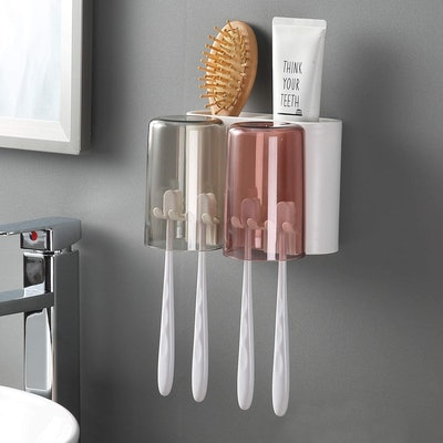 iHave Wall Mounted Toothbrush Holder