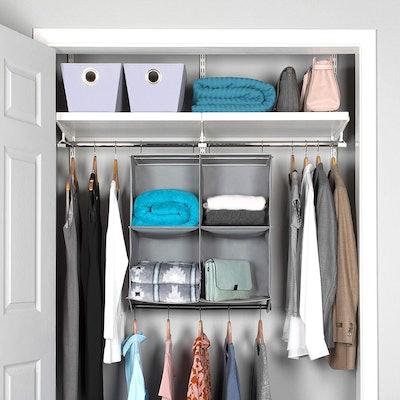 HOLD'N STORAGE Hanging Closet Organizer