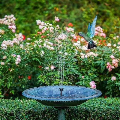 AISITIN Solar Water Fountain