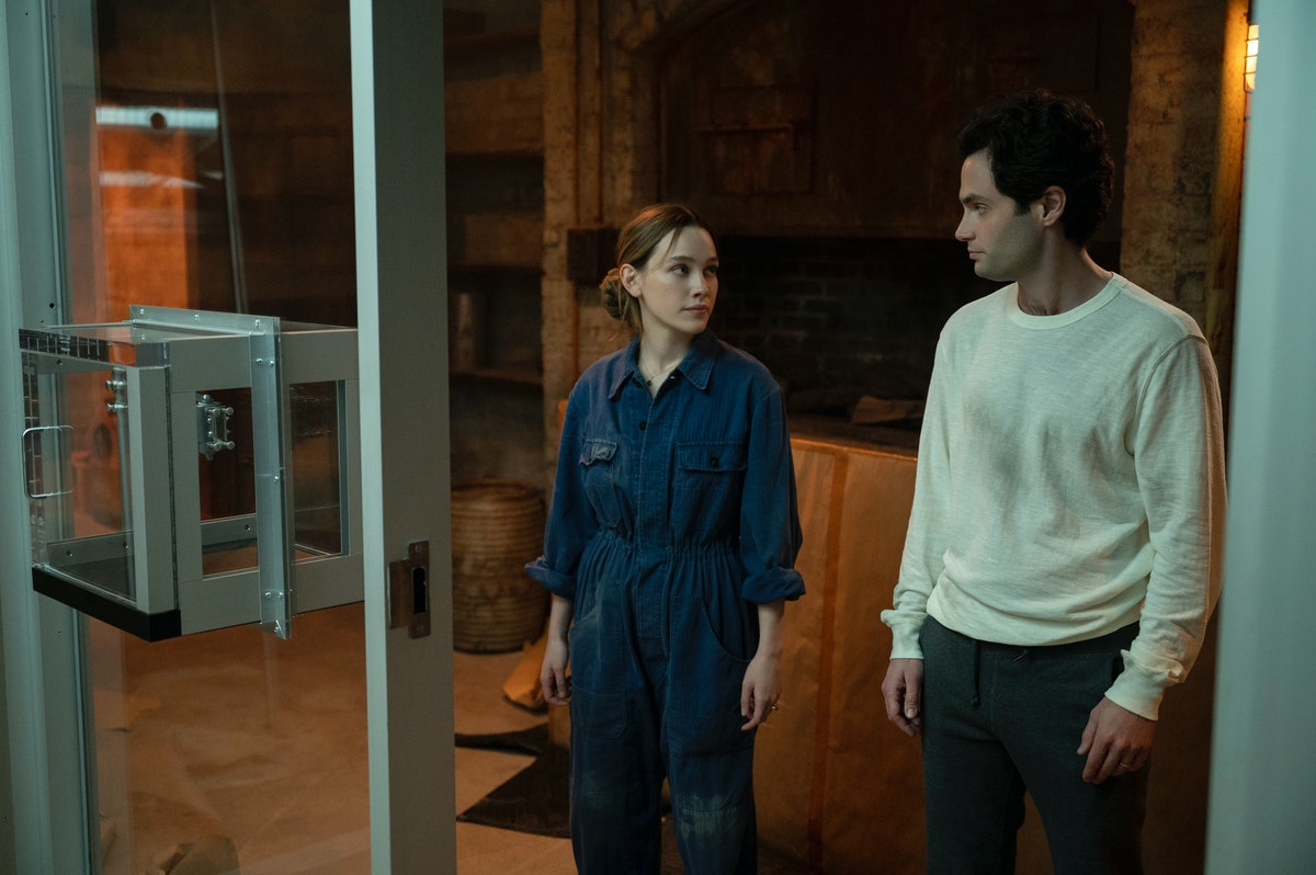 'You' Season 3 first-look photos show Joe and Love's baby and their new neighbors.