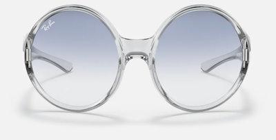 Transparent Oversize Sunglasses