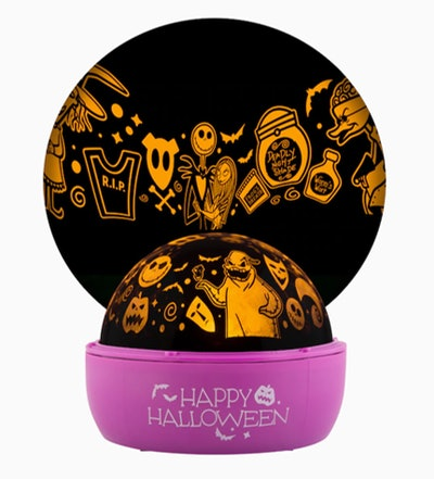 Disney Constant Orange Battery-Operated Halloween Indoor Light Show Projector